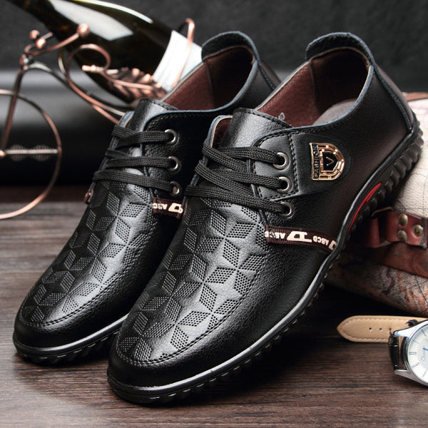 Men's Shoes - Comfort Breathable Genuine Leather Fashion Casual Shoes