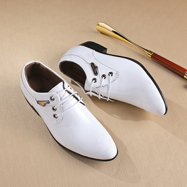 Fashion Italian Designer Formal Mens Dress Shoes