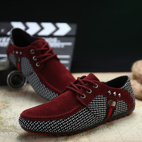 New Fashion Men Flats Light Breathable Shoes