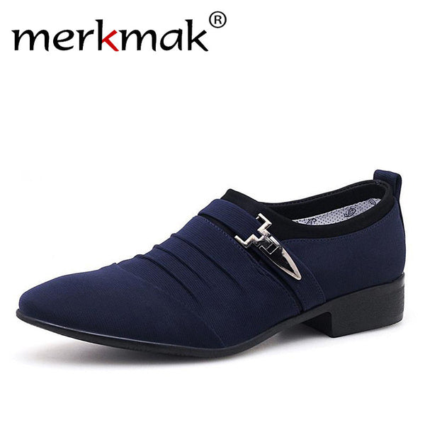 Men's Shoes - Classic Business Office Oxford Shoes