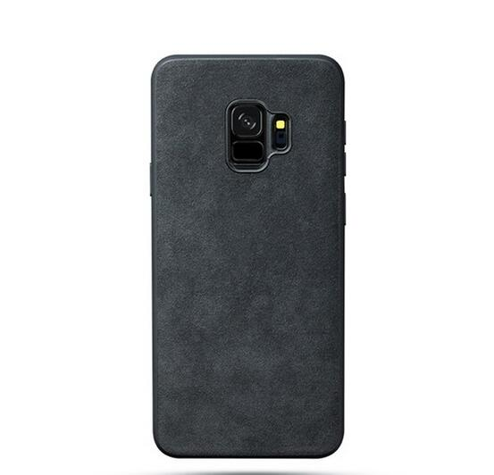 watch 63b21 26456 Phone Case - 2019 Luxury Vintage Alcantara Suede Fur Protective Phone Case  For Samsung Galaxy S9/S8 Plus Note 9/8
