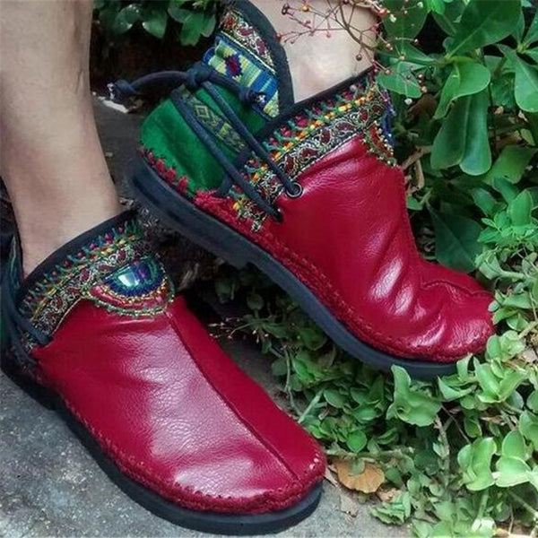 New Casual Handmade Comfortable Women Round Toe Boot(Buy 2 Got 5% off, 3 Got 10% off)