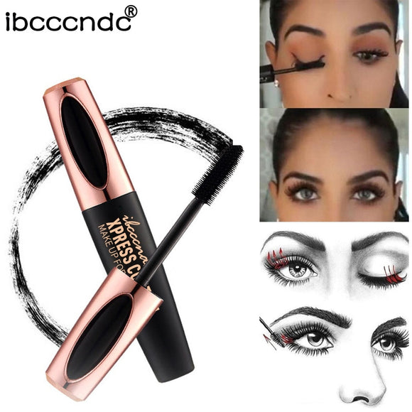 Beauty & Health - New 4D Silk Fiber Lash Mascara