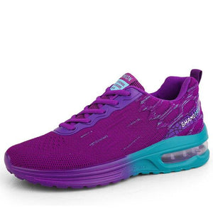 New Air Cushion Breathable Women Sport Sneakers