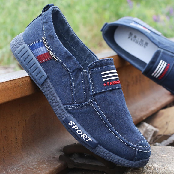 New Men Casual Canvas Shoes