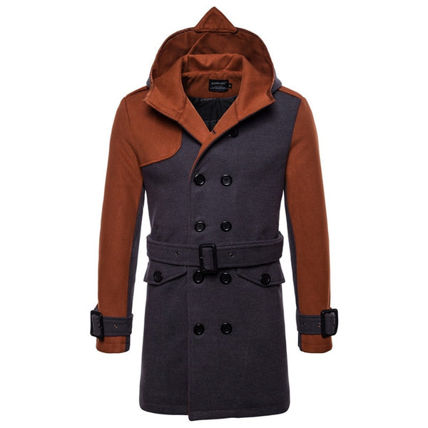 Fashion Thicken Stitching Color Jackets