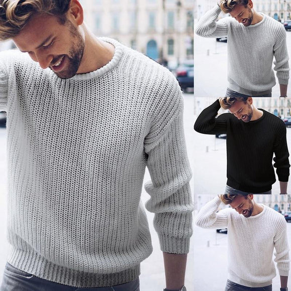 Men's Pullovers Knit Sweater(BUY 2 GET 10% OFF, 3 GET 15% OFF)