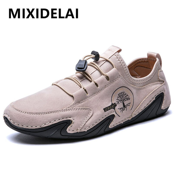 New Genuine Leather Men's Shoes Comfortable Outdoor Fashion Men Loafers
