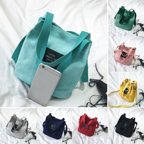Bag - Mini Single Canvas Shoulder Bag