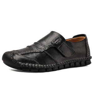 New Leather Mens Flat Loafers