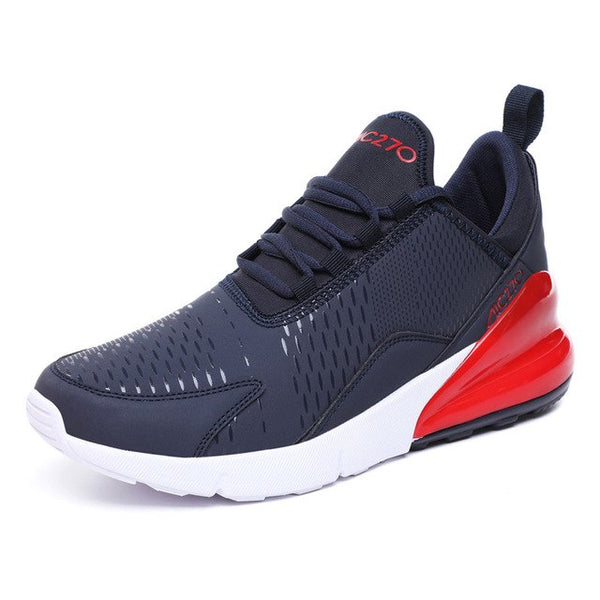 Running Shoes - Breathable Comfortable Black White Male sneakers