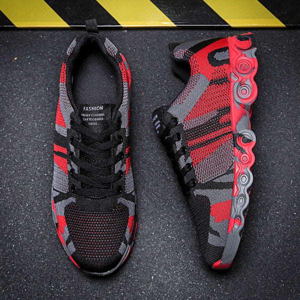 Men Mesh Breathable Casual Running Shoes