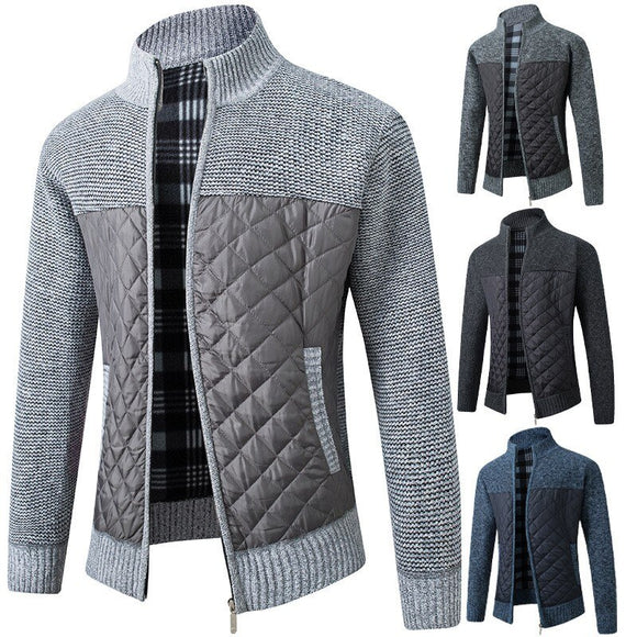 Kaaum Autumn Winter Warm Knitted Sweater Jackets Cardigan Coats