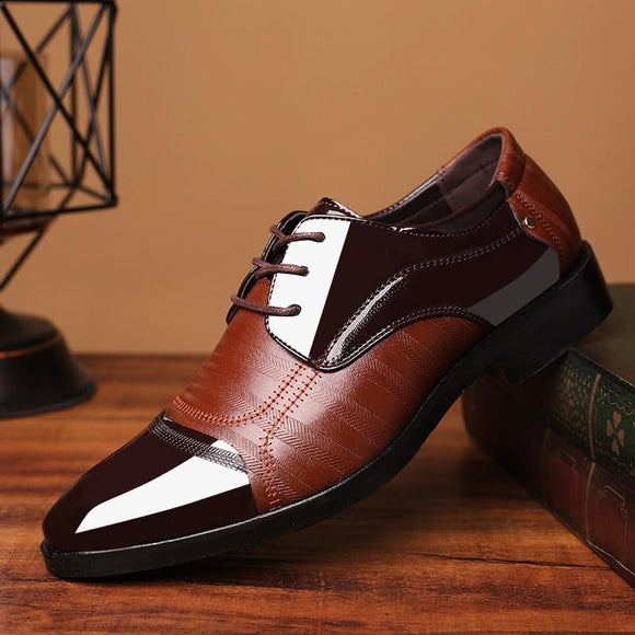 New Men's Leather Dress Shoes