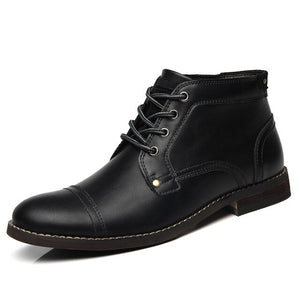 New Mens Short Martin Ankle Boots
