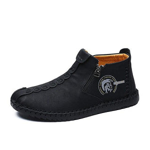 New Mens Mid Top Ankle Boot