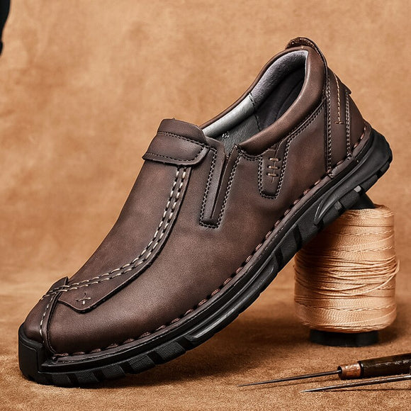 Kaaum New High-quality Men's Casual Shoes Loafers