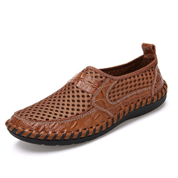 Men's Shoes - Mesh Casual Breathable Lightweight Slip-On Shoes