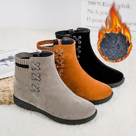 New Winter Warm Women Ankle Boots