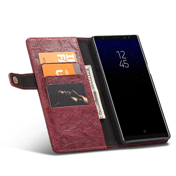 Flip PU Leather Wallet Magnetic Back Case For Samsung Galaxy Note 8 Note 9
