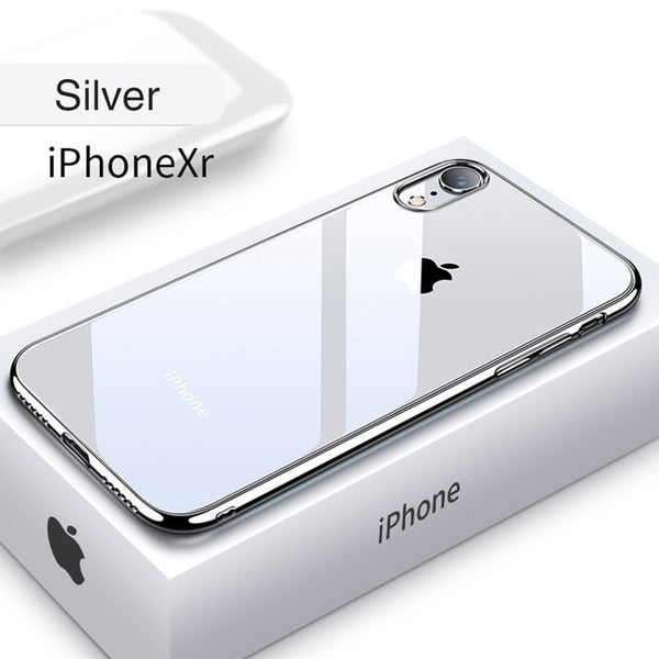 newest 97714 f2cfd Phone Accessories - Ultra Thin Transparent Case For iPhone XS MAX XR X