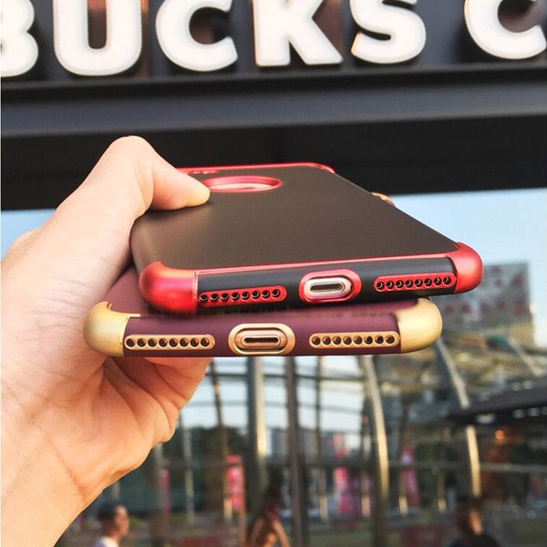 Soft Shockproof TPU Silicone Cases for iphone 6 6S 7 8 Plus X XS MAX XR