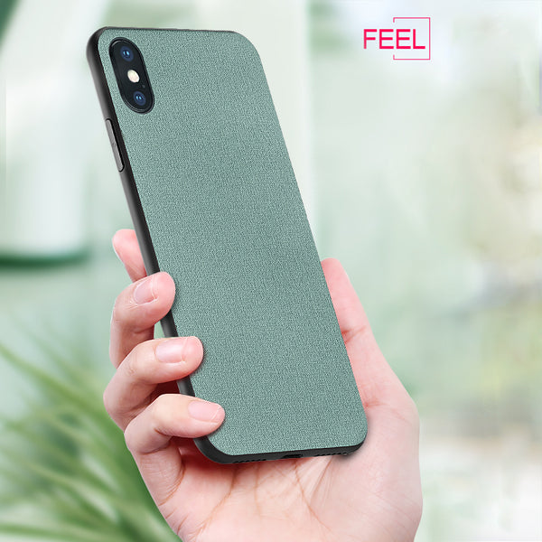 Genuine Canvas Case For iPhoneX XS MAX XR And More