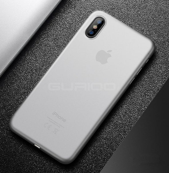 Phone Case - Luxury Ultra Thin PP Slim Transparent Back Cover Phone Case For iPhone X/XS/XR/XS Max