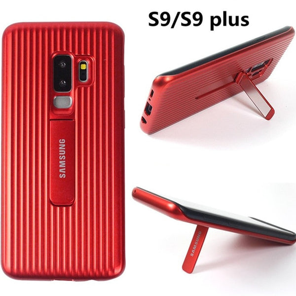 Original Protective Standing Armor Smart Bracket Cases For Samsung S8 S9 + Note 8 9