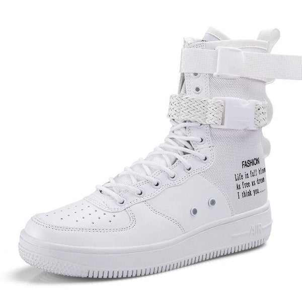 brand new 316b8 428ad Shoes - Men Breathable Sport Shoes High Top Trainers Shoes