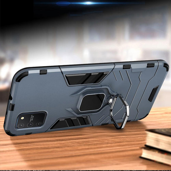 Kaaum Luxury Armor Shockproof Magnetic Bracket Case For Samsung Glaxy S20/Plus/Ultra