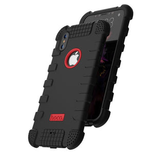 Phone Accessories - Shockproof Thick Silicon Soft Protect Armor iPhone Case