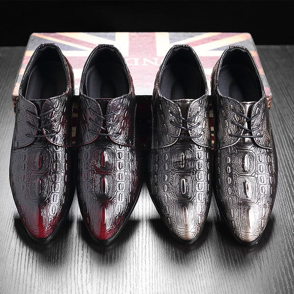 Shoes 2019 New Style Men Leather Dress Shoes Kaaum