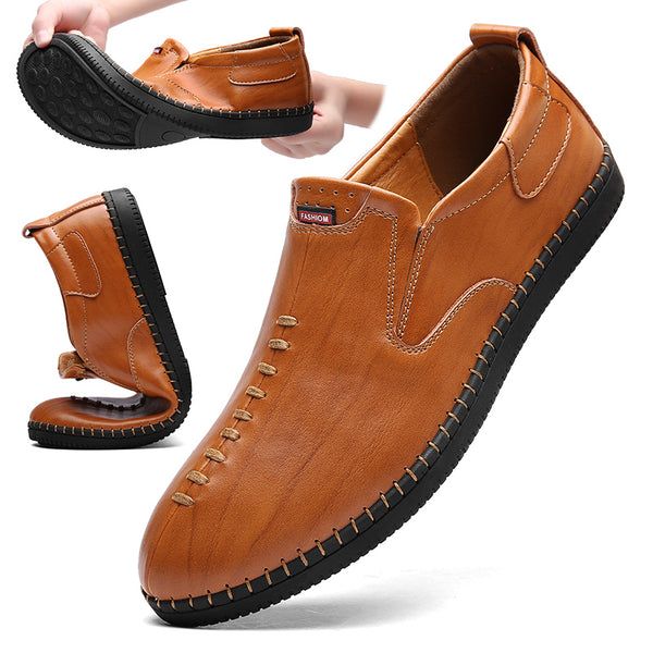 Men's Shoes - Handmade Genuine Leather Men Casual Shoes