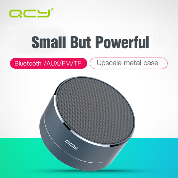 QCY A10 Metal Portable Speakers