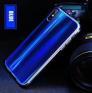 Glossy Laser Phone Case For iPhone