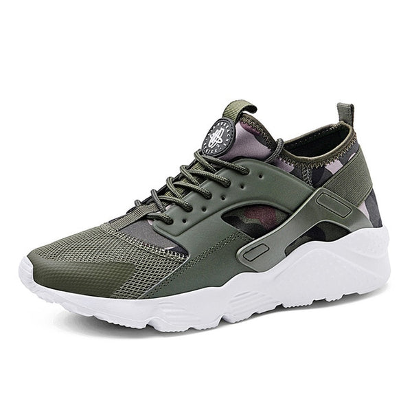 Men Shoes - 2019 Air Mesh Fashion Leather Casual Shoes