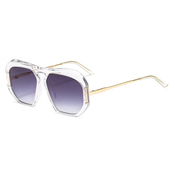 Sunglasses - Ladies Ultralight Vintage Square Sunglasses