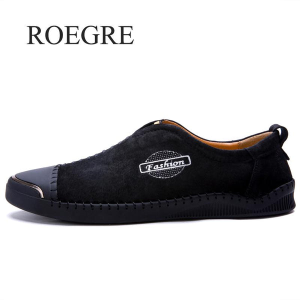 Men's Shoes - New Comfortable Split Leather Casual Shoes