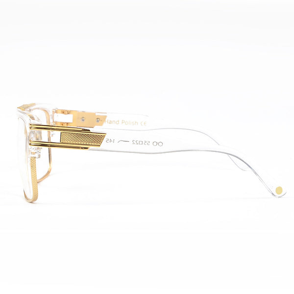 Vintage Oversize Clear Lens Glasses →Buy one get one 40% OFF