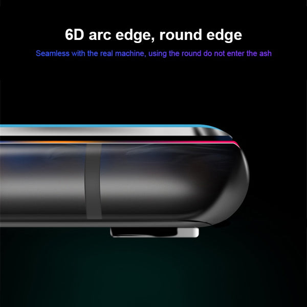 6D Curved edge Tempered Glass For iPhone 6 6S 7 8 Plus X