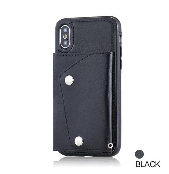 Phone Cases - Wallet Flip PU Leather Case For Samsung