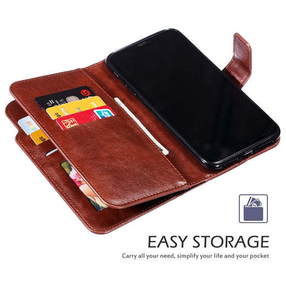 Retro Wallet Flip Card Cover Luxury Leather Case For iPhone(Buy 2 Get 10% OFF, 3 Get 15% OFF)