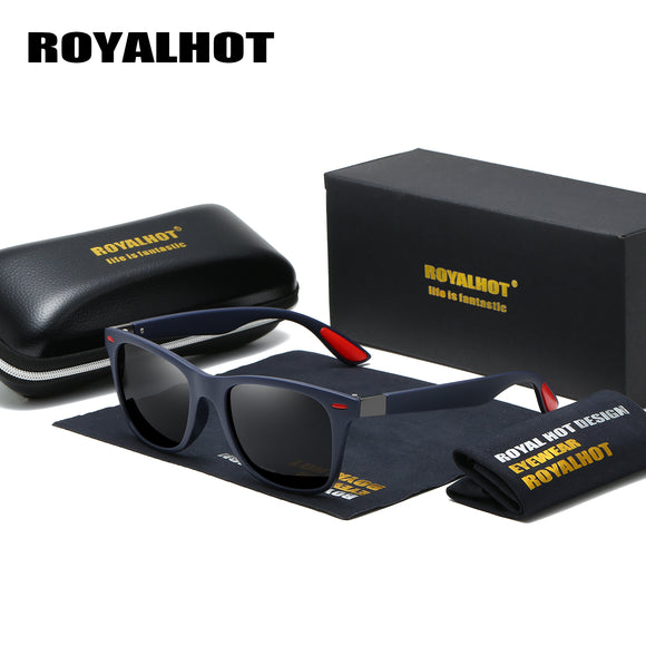 RoyalHot Men Women Square Fashion Polarized Sunglasses