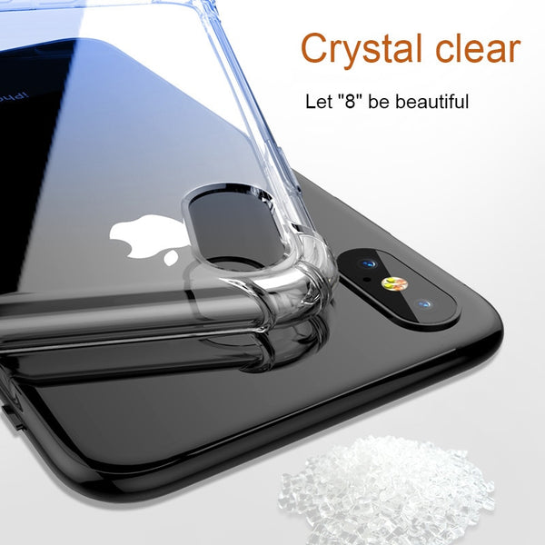 Soft Silicon Super Shockproof Case For iPhone Samsung Galaxy