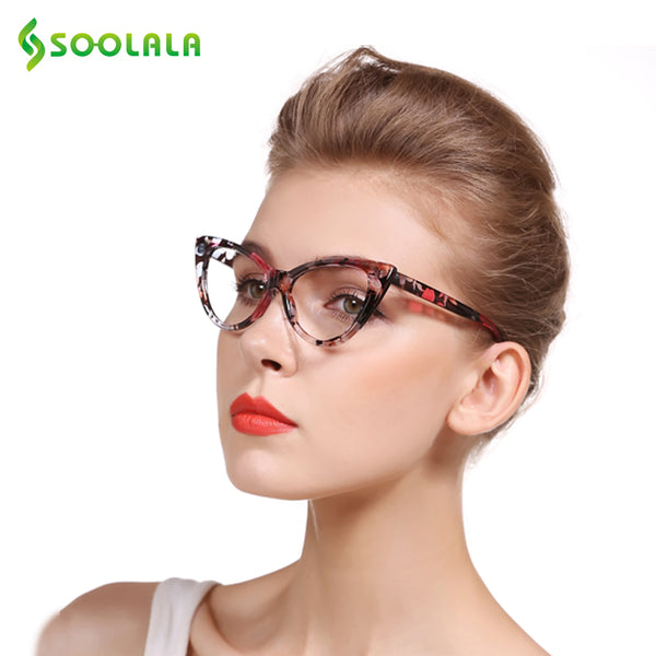Reading Glasses - Cat Eye Glasses Full Frame Reading Eyeglasses