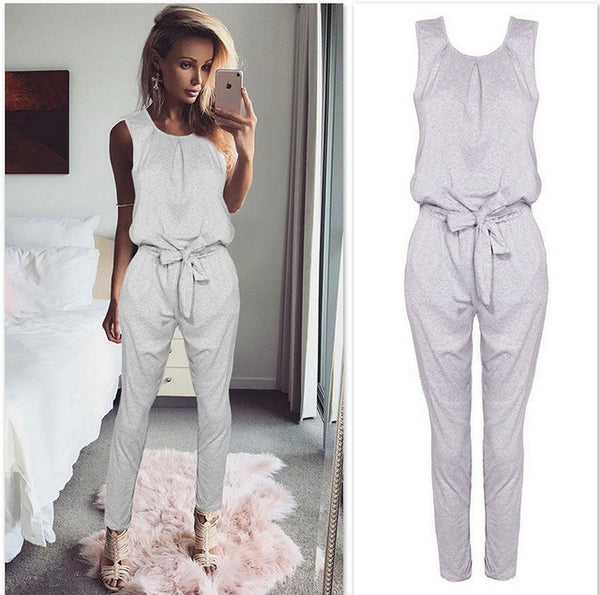 Jumpsuits - New summer women lady Fashion jumpsuit