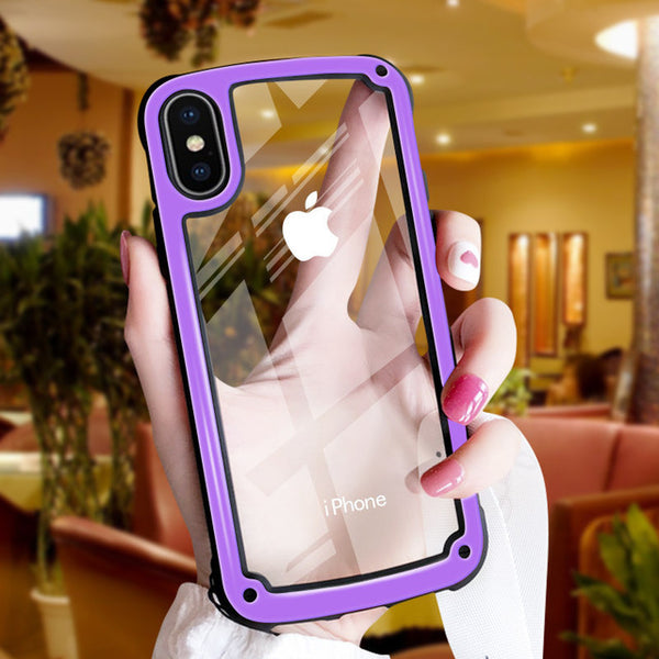 Phone Bags - Shockproof Armor Clear Phone Case For iPhone