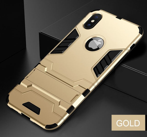 Heavy Duty Anti-knock Hard Shockproof Phone Case For iPhone X/XS/XR/XSMax