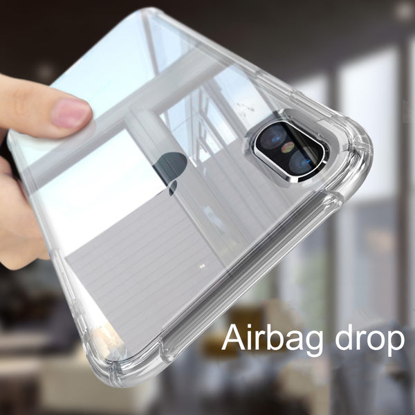 Phone Case - Luxury Airbag Design 360 Degree Protection Phone Case For iPhone XS/XR/XS Max 8/7 Plus